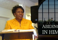 ABIDING IN HIM -PART 1 From the Intercessory Center