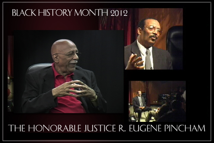 Black History Month: The Honorable Justice R. Eugene Pincham