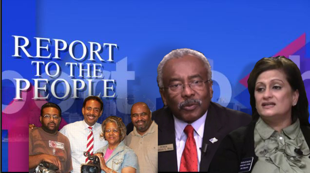 Report To The People – Guests Judge Stanley Hill and Farah Baqai