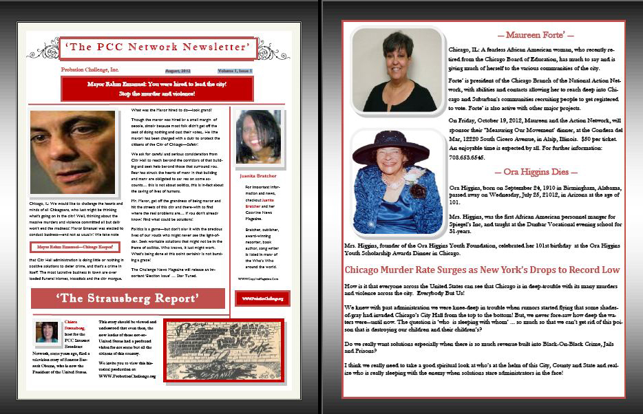 The Challenge Newsletter August 2012
