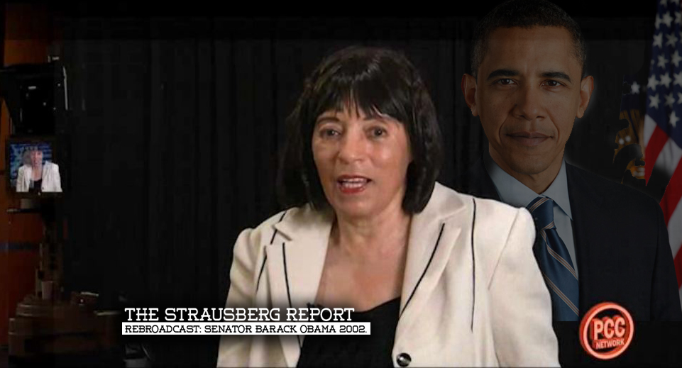 The Strausberg Report Rebroadcast: Senator Barack Obama 2002.