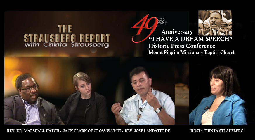 The Strausberg Report with Guests: Rev. Jose Landaverde, Rev. Dr. Marshall Hatch and Jack Clark Pt2