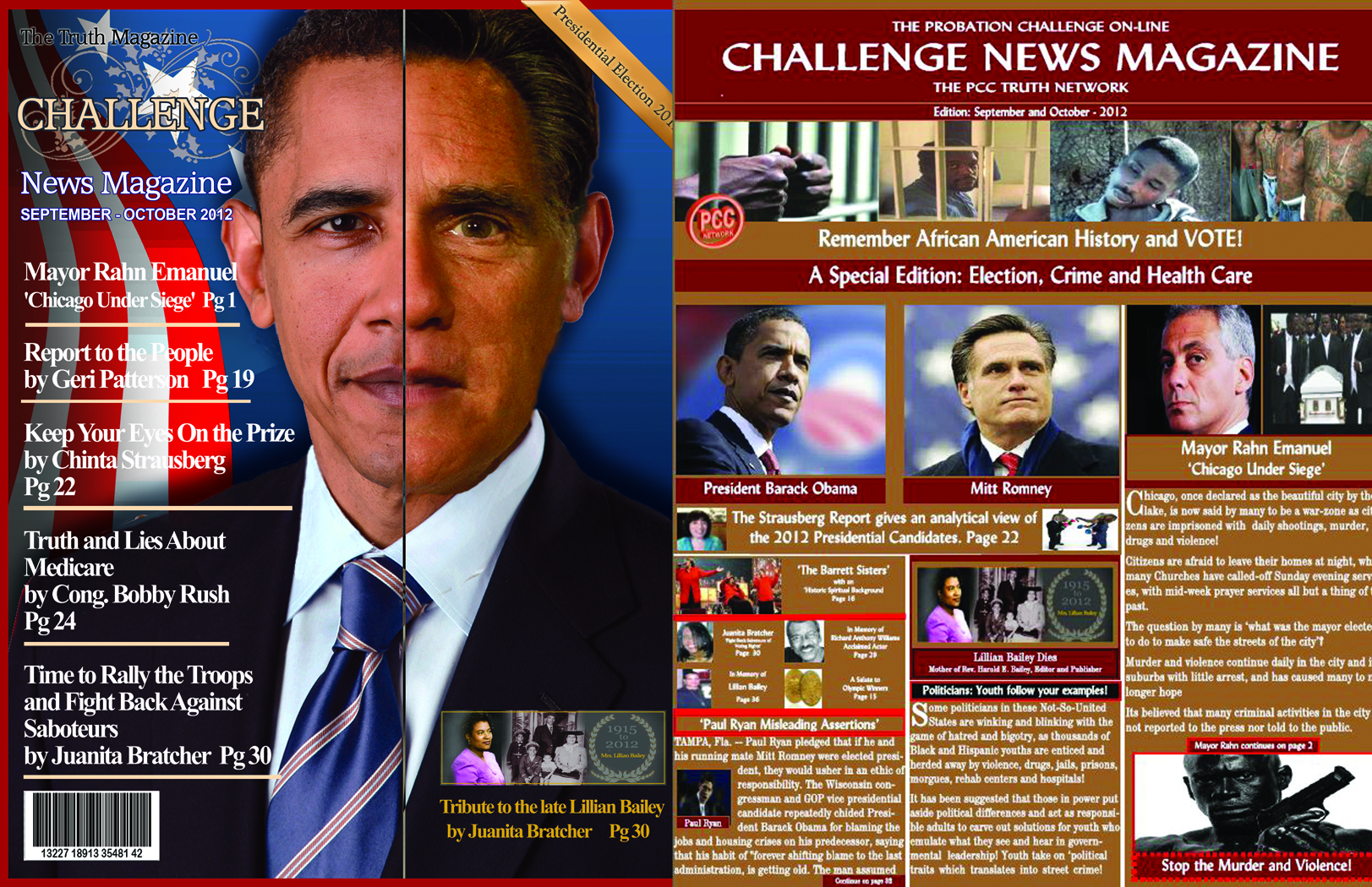 Challenge News Magazine September – October 2012
