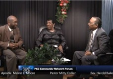PCC Network Community Forum with Apostle Melvin L. Moore and Mitty Collier