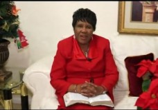 Pastor Lottie Woods Hall Christmas Presentation