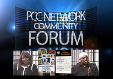 PCC Network Forum with Authors Joyce M. Evans and Edgar Gosa.
