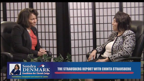 The Strausberg Report With Chinta Strausberg. Guest: Sondra Denmark – Assistant States Attorney.