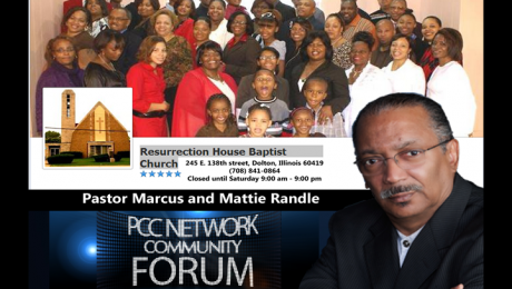 PCC Community Forum with Pastors Marcus and Mattie Randle of Resurrection House Baptist Church