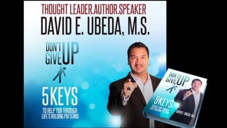 "Author and Speaker David E Ubeda discusses his new book, ""Don't Give Up! on the Strausberg Report"