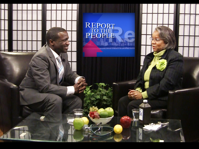 Report To The People with Host Geri Patterson. Guest: Dr. Clarence Parks