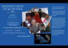 I Owe It All To The Word Show with Pastor Mitty Collier.The Year Of Miracles – The United Benefit Concert.