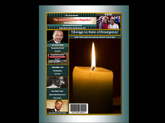 Challenge News Magazine for October and November – Early Release