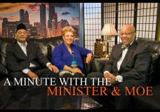 "A Minute With the Minister & Moe. Hosts: Mitchell L. Johnson and Maureen ""Moe"" Forte. Special Guest: Floyd Davis"