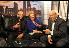 "A Minute With the Minister & Moe. Hosts: Mitchell L. Johnson and Maureen ""Moe"" Forte. Special Guest: Bishop Kenneth Franklin D.D."
