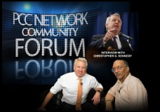 PCC Network Community Forum with Studio Guest: Christopher G. Kennedy.