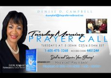 """Report To The People with Host: Geri Patterson. Guest: Minister Denise D. Campbell Author of """"Calling Things"""""""