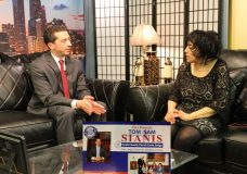The Strausberg Report with Chinta Strausberg. Guest: Cook County Circuit Court Judicial Candidate, Tom Sam Sianis.