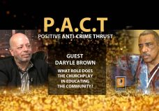 Positive Anti-Crime Thrust (PACT) Presents. Host: Howard Saffold. Guest: Daryle Brown