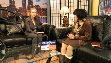 The Strausberg Report with Chinta Strausberg. Guest: Judicial Candidate, Ioana Salajanu. Cook County Circuit Court.