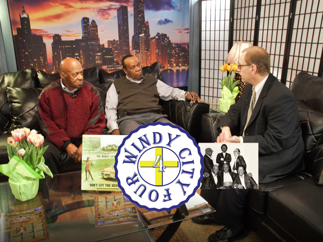 Conversations with the Gospel Greats with Bob Marovich. Guest: Windy City Four's  Nelson Larkins & Robert Johnson.