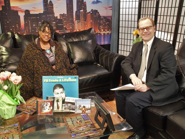 Conversations with the Gospel Legends with Bob Marovich. Gospel Legend, Elsa Harris.