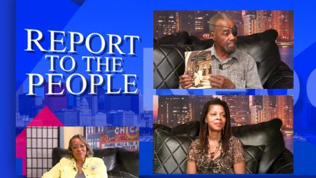 Report to the People with Geri Patterson. Guests: Shay Jones and Lowell Thompson