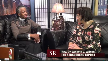 The Strausberg Report with Chinta Strausberg. Guest : Rev. Dr. Janette C. Wilson