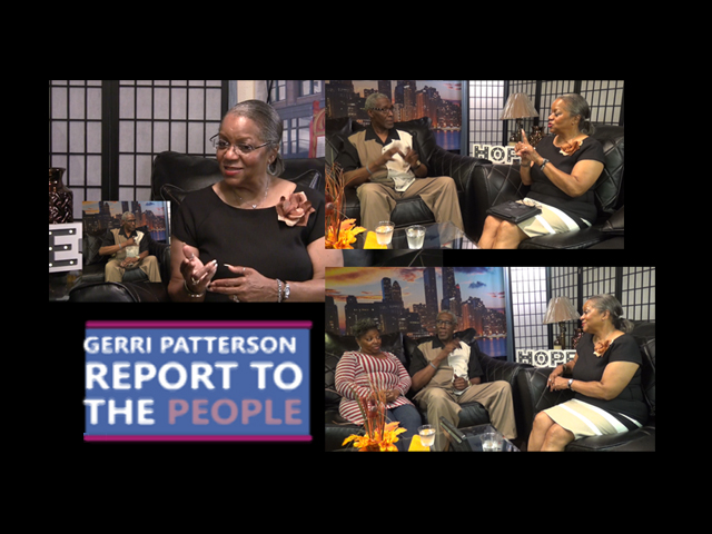 Report To The People with Geri Patterson. Guest: Rev. Donald Bester