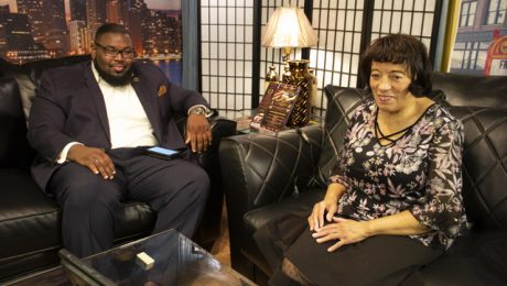 The Strausberg Report with Host Chinta Strausberg. Guest: Rev. Cassius L. Rudolph. 20th Ward Aldermanic Candidate.