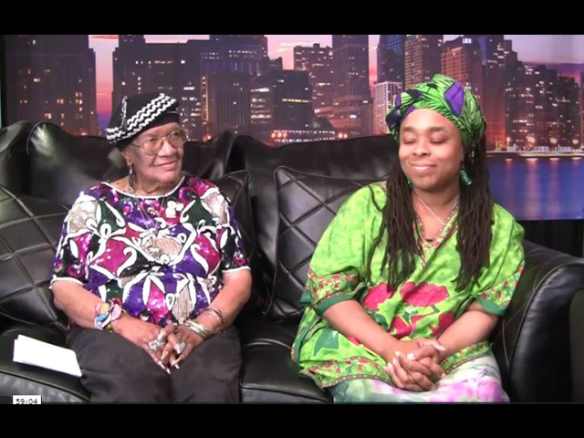 Report To The People with Host: Geri Patterson. Guest: Asadah and Queen Mother Helen Sinclair