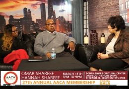 The Strausberg Report with Chinta Strausberg. Guest: Hannah and Omar Shareef.