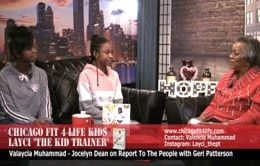 Report To The People With Geri Patterson and Jocelyn Dean. Guest Valaycia Muhammad.